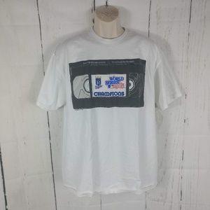 Kansas City Royals 1985 World Series VHS T-Shirt